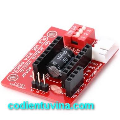 Mạch mở rộng A4988 - DRV8825 (Shield mở rộng A4988) 3D printer A4988