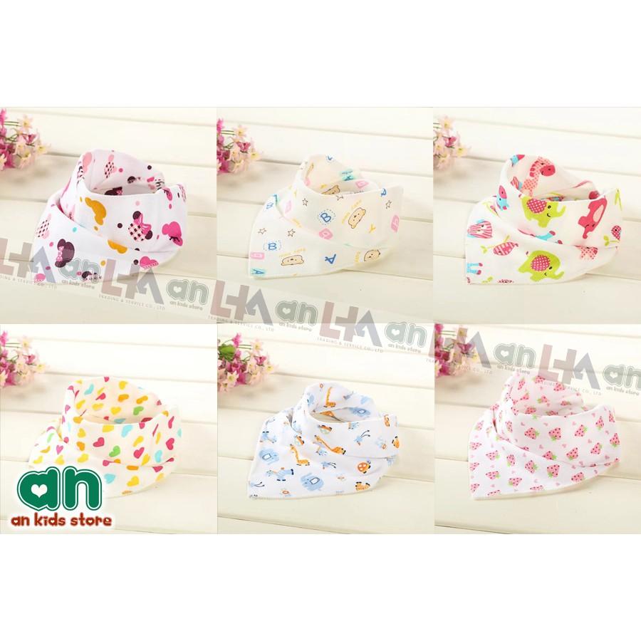 Set 6 khăn yếm tam giác 2 lớp cotton có cúc bấm cho bé - 2771148 , 685257630 , 322_685257630 , 45000 , Set-6-khan-yem-tam-giac-2-lop-cotton-co-cuc-bam-cho-be-322_685257630 , shopee.vn , Set 6 khăn yếm tam giác 2 lớp cotton có cúc bấm cho bé