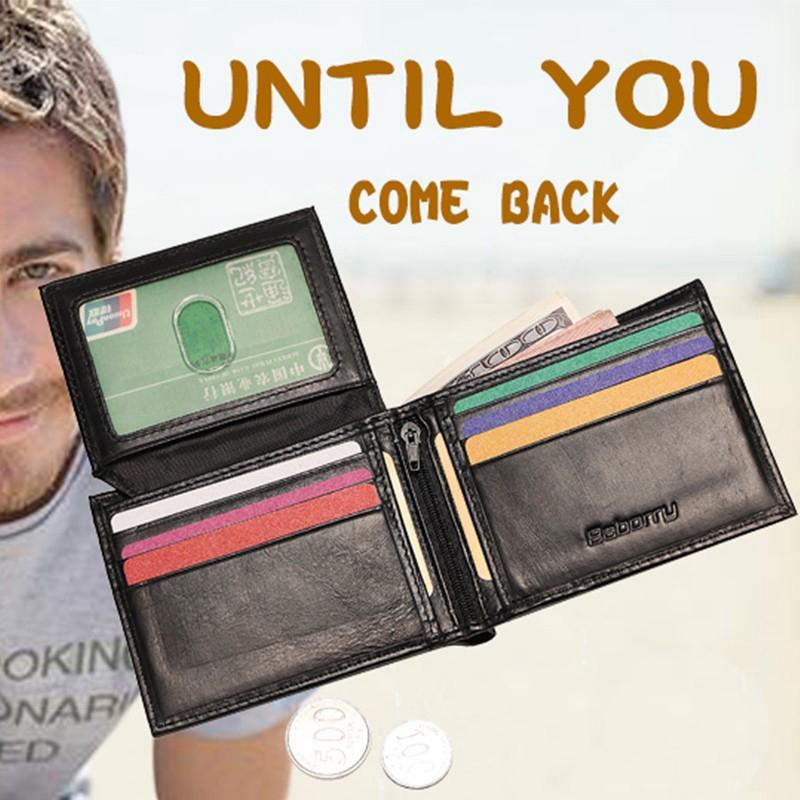 [พร้อมส่ง]HOT NEW แฟชั่น Baborry กระเป๋าสตางค์ กระเป๋าสตางค์ผู้ชาย กระเป๋าสตางค์หนังผู้ชายมีกระเป๋าใส่เหรียญ