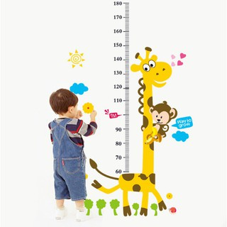 Đồ Chơi Dacel dán tường đo chiều cao cho bé | DB2800 [SHIP TOÀN QUỐC]