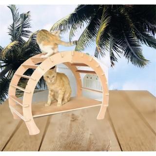 Võng cho mèo, nhà cho mèo, giường cho mèo, một sản phẩm đa công dụng cho mèo. thumbnail