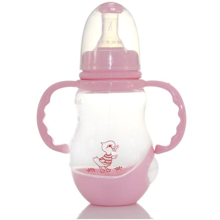 [Mã FMCGSALE15 giảm 8% đơn 500K] Bình sữa baby cho bé 150ml, nhựa PP không PBA, có tay cầm