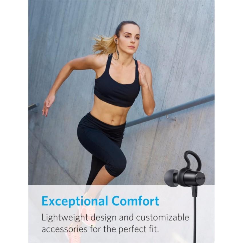 [Mã 267ELSALE hoàn 7% đơn 300K] Tai nghe không dây ANKER SoundBuds Surge Bluetooth - A3236 - Hãng phân phối chính thức