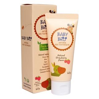 Kem Đánh Răng Nuốt Được Hàn Quốc Baby Bro Vị Trái Cây Cho Trẻ Em ( Cho Bé Sơ Sinh ) thumbnail