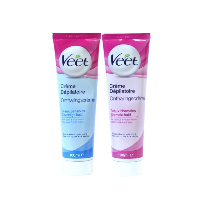 Kem tẩy lông VEET 100ml – Cream Depilatoire