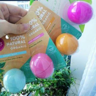 [AUTH USA] Son dưỡng trứng EOS Natural & Organic Shea Lip Balm Mỹ thumbnail