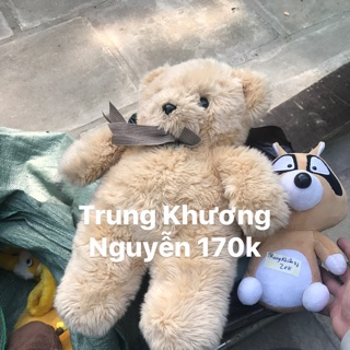 Set gấu của Trung Khương Nguyễn 170k