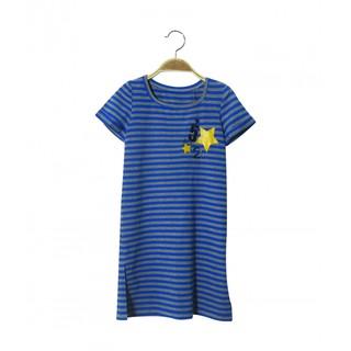 Váy suông kẻ – xanh LK0067 - Lovekids
