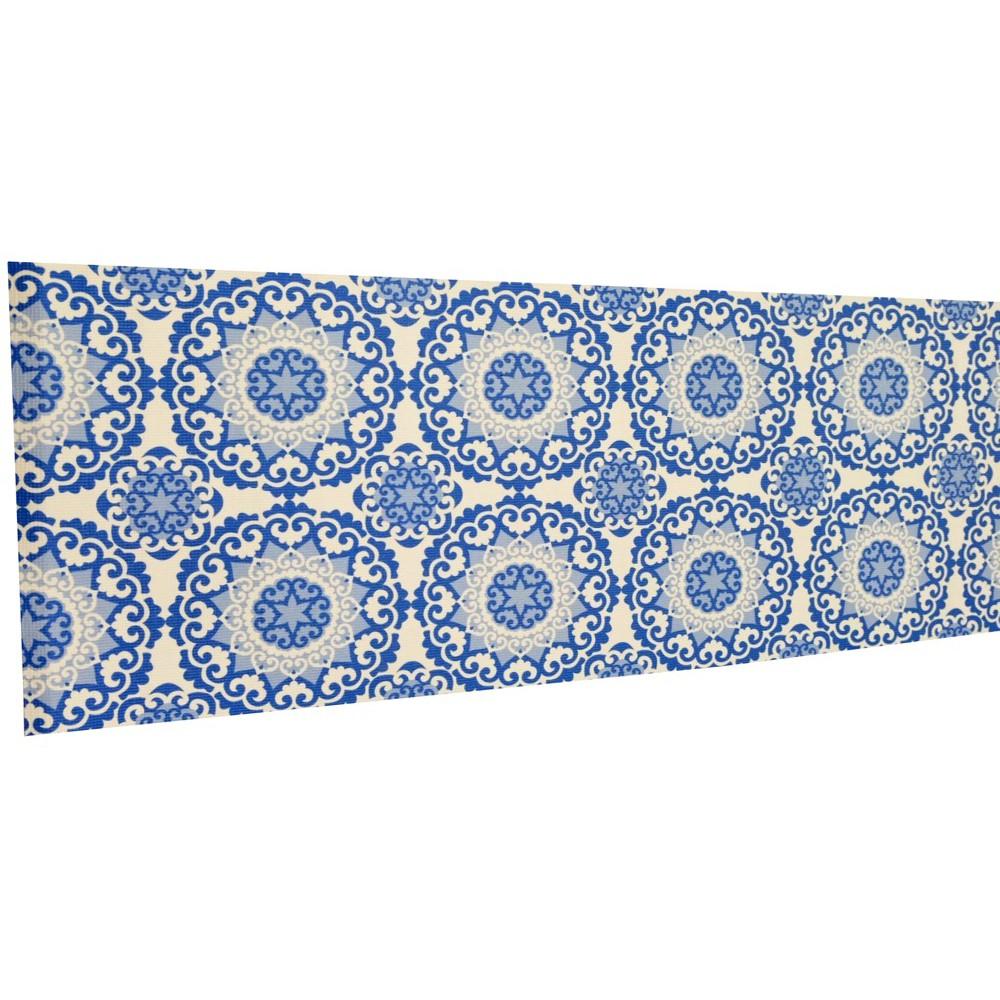 Thảm yoga PVC hoa văn Ấn Độ 5mm (AD02)