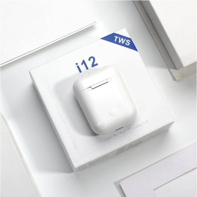 TAI NGHE BLUETOOTH I12 chuyên dụng hơn như AirPods ÂM THANH TRUNG THỰC