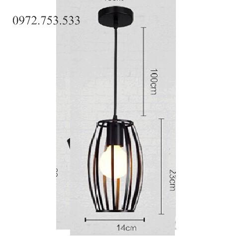 Bộ chùm 3 đèn thả hình học quả trám độc đáo
