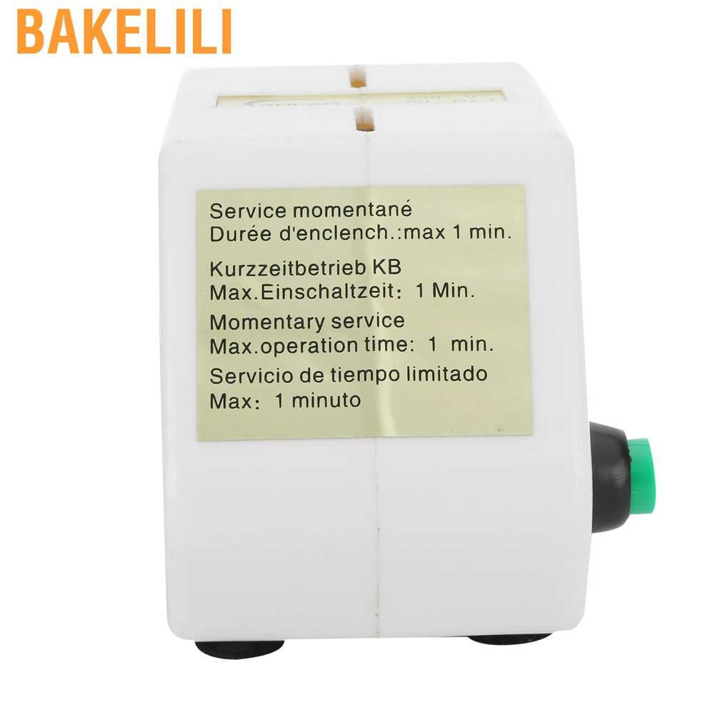(Hàng Mới Về) Thiết Bị Sửa Chữa Đồng Hồ Đeo Tay Chuyên Nghiệp Bakelili 250v