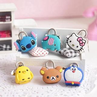 Ổ Khóa Mini Hình Thú Dễ Thương, chuyên dùng khóa balo, vali, túi xách, khóa chắc chắn thumbnail