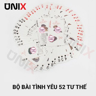 Bộ Bài Tây 52 Tư Thế Yêu – Unix House