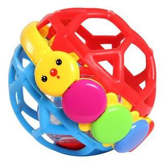 Đồ chơi bóng lục lạc nhựa mền dẻo an toàn cho bé