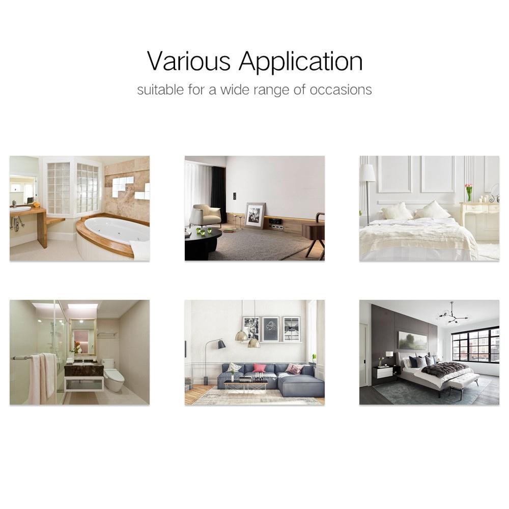 Thảm Lót Sàn Nhà Tắm / Nhà Bếp / Phòng Khách Mềm Mại Chống Trượt Nhiều Màu Sắc 40x60cm