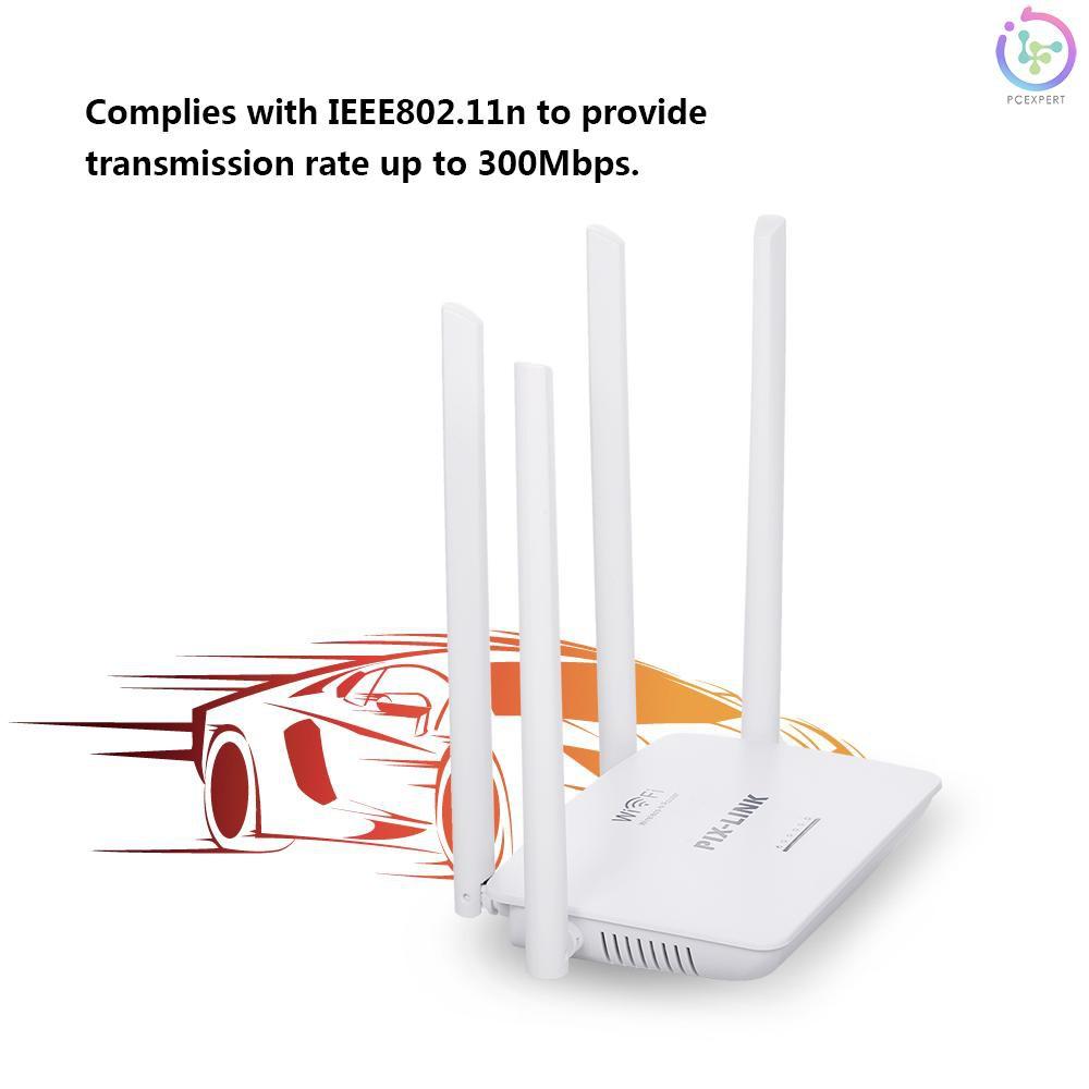 Bộ Khuếch Đại Sóng Wifi 5 Cổng Rj45 802.11n Wr08 300mbps