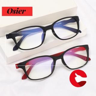 👒OSIER🍂 Women Men Anti-Blue Light Eyeglasses Comfortable Eye Protection Reading Glasses Portable Antifatigue Fashion Vintage Ultra Light Frame/Multicolor