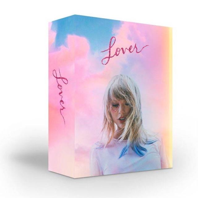 LOVER CD BOXED SET - Taylor Swift ( Đặt trước dự kiến 23/8 phát hành )