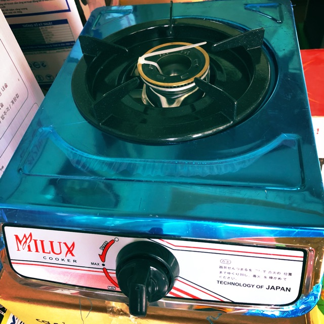 Bếp ga đơn Milux cooker 5A1( Ảnh thật)