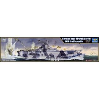 Trumpeter 05627 Mô Hình Hàng Không Mẫu Hạm 1/350 German Navy Aircraft Carrier Graf Zeppelin