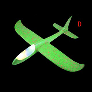 48CM Led EPP Foam Hand Throw Airplane Launch Glider Flashing Plane Kids