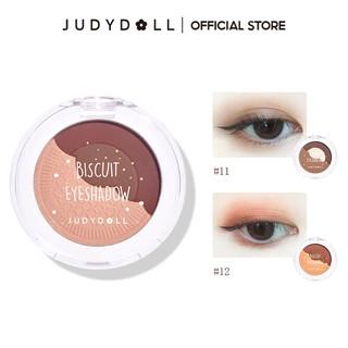 [Mã FMCGMALL - 10% đơn 250K] Phấn mắt Judydoll Biscuit màu lì 4.2g