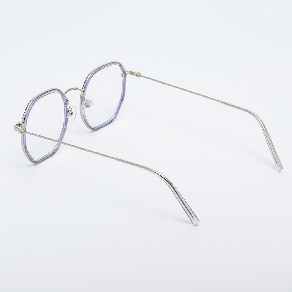 🎉ONLY🎉 -1.0~-4.0 Myopia Glasses Reduces Eye Strain Anti-UV Blue Rays Flat Mirror Eyewear Metal Round Frame High-definition Ultralight Unisex Eyeglasses