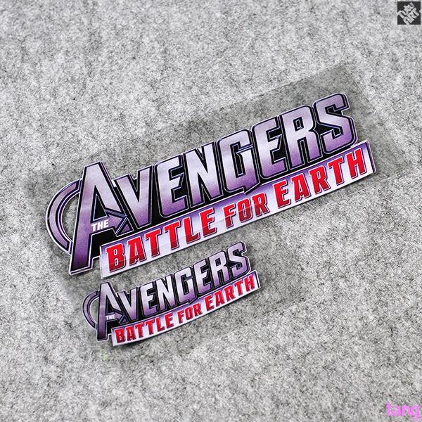 AVENGERS Avengers United States Captain Iron Man Batman Reflective Sticker