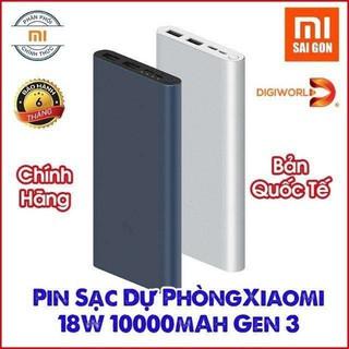 Pin Sạc Dự Phòng Xiaomi Type C 18W Xiaomi 10000mAh Gen 3