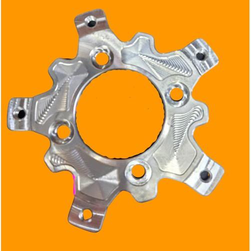 Lòng đĩa nhôm CNC dành cho đĩa Exiter 150 gắn mâm trước 4 lỗ