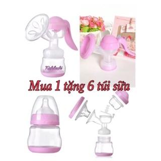 Máy hút sữa bằng tay Kichilachi – tặng kèm 6 túi trữ sữa