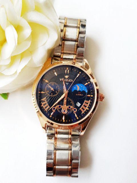 New Đồng hồ nam fngeen dây inox