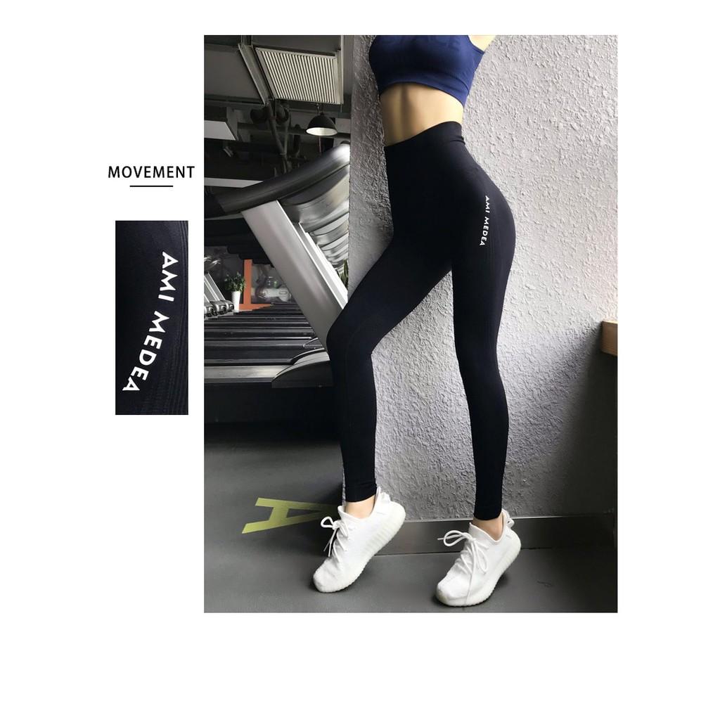 Quần tập gym,yoga nữ nâng mông - Đồ tập gym nữ lưng cao - BiT Fitness chuyên đồ tập