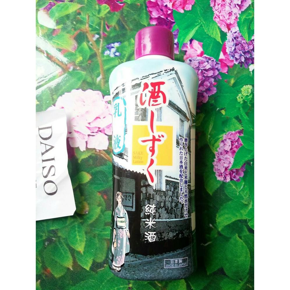 Sữa dưỡng Skin Lotion dưỡng da chiết xuất Sake Daiso Nhật - 3010349 , 902162508 , 322_902162508 , 99000 , Sua-duong-Skin-Lotion-duong-da-chiet-xuat-Sake-Daiso-Nhat-322_902162508 , shopee.vn , Sữa dưỡng Skin Lotion dưỡng da chiết xuất Sake Daiso Nhật