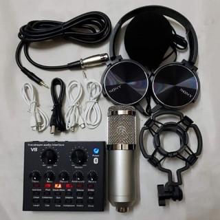 Chọn bộ thu âm 3 món Mic WOAICHANG BM900-V8 tặng tai ốp bh 6 tháng