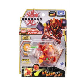 BAKUGAN - Siêu Chiến Binh Giáp Sĩ Lửa Dx Cyndeous Red 124894 thumbnail