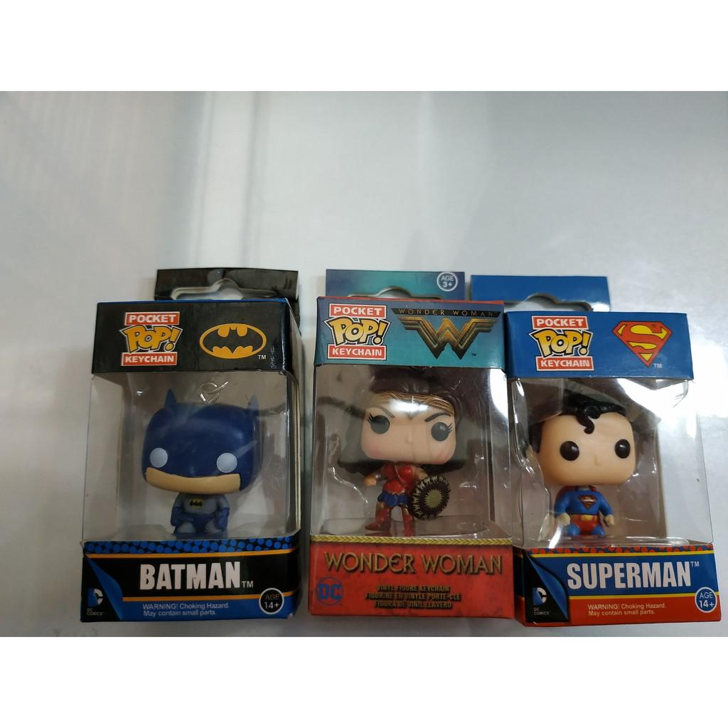 Móc khóa funko mini Superman