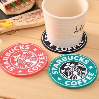 HCM - Combo 4 đế lót ly tròn Starbuck lót ly cà phê thời trang