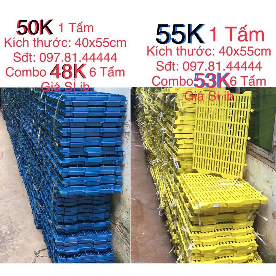 6 Tấm lót sàn nhựa vệ sinh cho chó mèo 40x55cm X 6 TẤM (BAO TRẢ NẾU SÀN KÉM CHẤT LƯỢNG, YẾU, MỎNG)