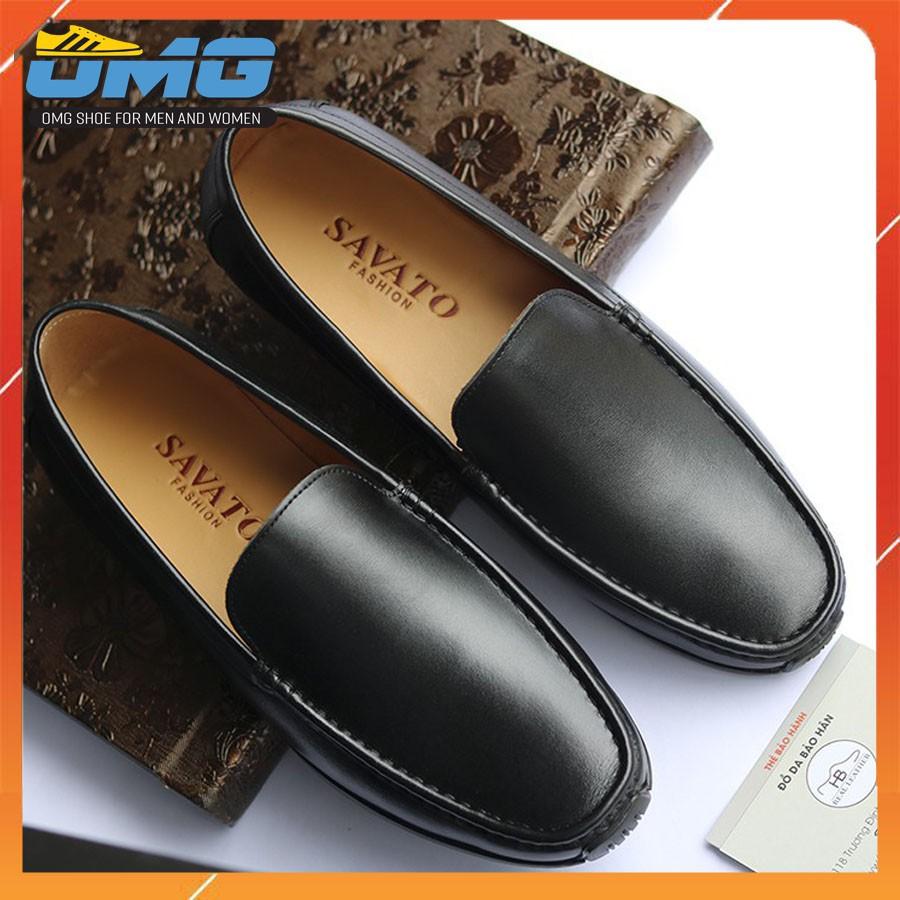 Giày Lười Nam Cao Cấp. Đế Full Đen Nhập Khẩu Mã GL05