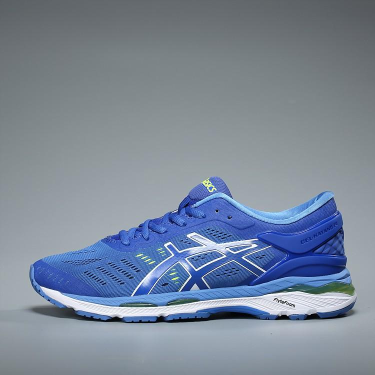 Asics gel-Kayano 24 รองเท้าวิ่งสีฟ้า