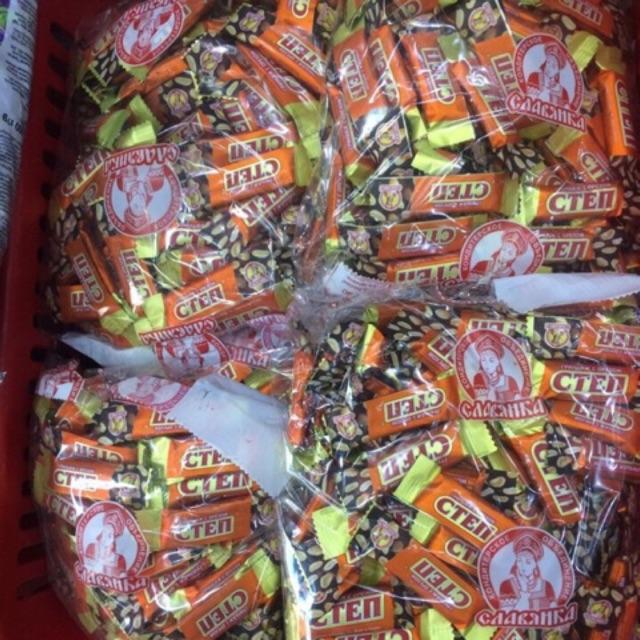 Kẹo Cten Nga,1kg date mới