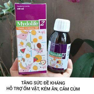 Mydolife 2 Bổ Sung Vitamin Và Khoáng Chất Tăng Sức Đề Kháng 100ml thumbnail