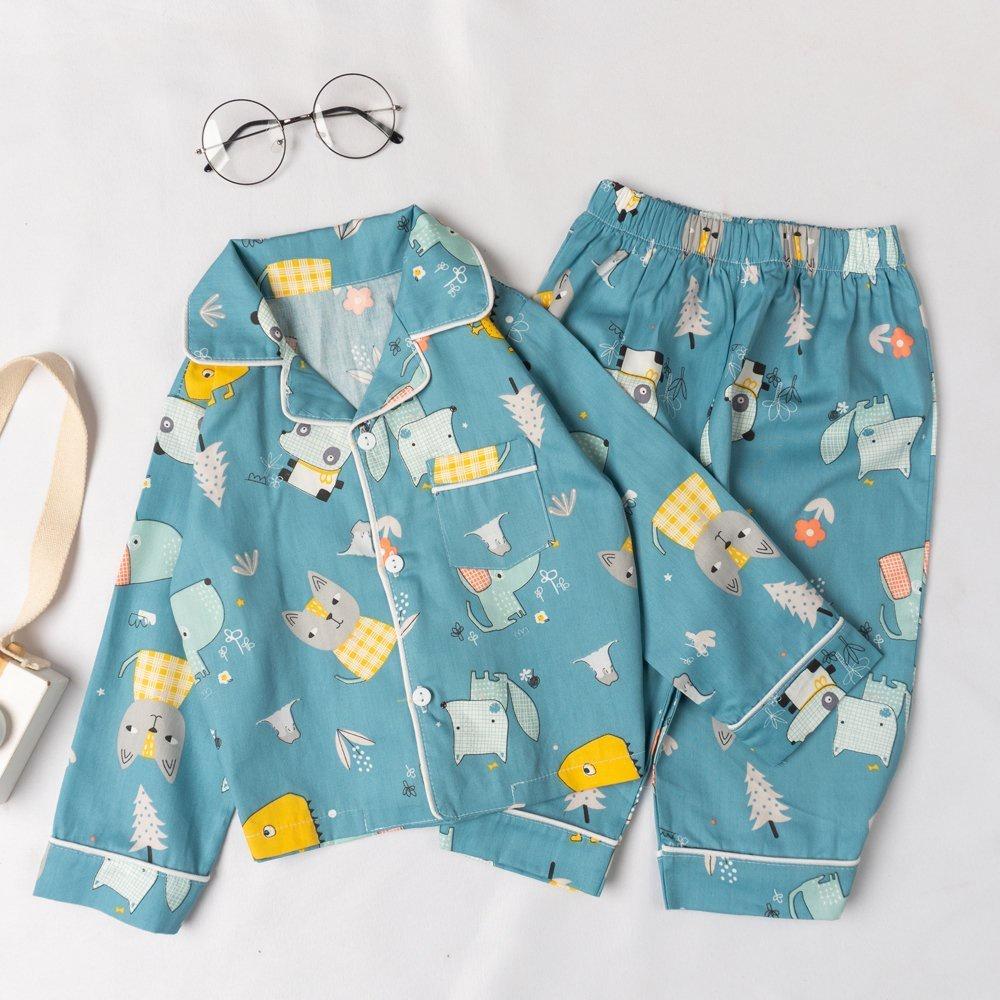 Mặc gì đẹp: Đẹp với Bộ đồ pyjama rời dài tay họa tiết dễ thương cho bé BR20017 - MAGICKIDS