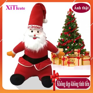 ông già Noel nhồi bông – quà tặng tuyệt vời cho các bạn trẻ