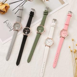 Đồng hồ thời trang nữ Mstianq MH022 mặt hoa cúc cực đẹp, nhiều màu dể dàng phối đồ, cá tính, trẻ trung