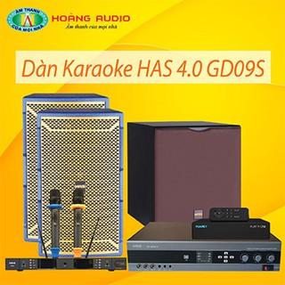 Bộ dàn karaoke gia đình HAS 4.0 GD09S thumbnail