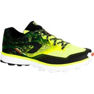 Giày chạy bộ địa hình Decathlon EVADICT Kiprace Trail 4 cho nam - Vàng Đen size UK 9.5 - EU 44 thumbnail