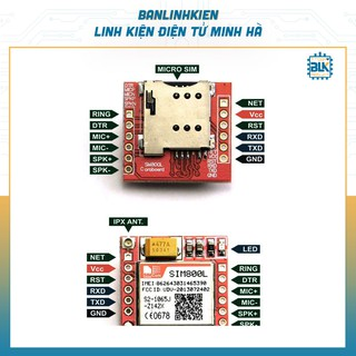 Module SIM800L Mini GPRS GSM